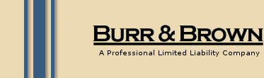 Burr and Brown logo - patents, trademark, intellectual property rights